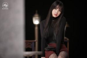 Công chúa tóc xù Girls 4th Mini Album [Rollin'] Individual Image Eunji Hayun Teaser
