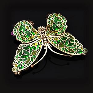 бабочка Brooch