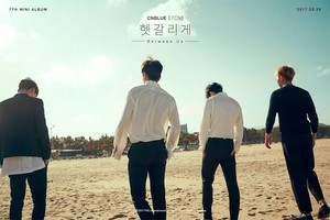 CNBLUE drops album Название poster for 'Between Us'