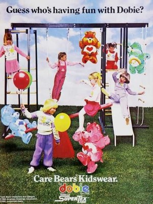 Care Bears Dobie Kidswear advertisement