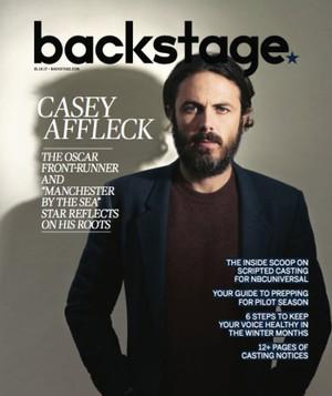 Casey Affleck - Backstage Photoshoot - 2017