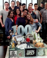 Celebrates wrapping the show and reaching their 100th episode - teen-wolf fan art