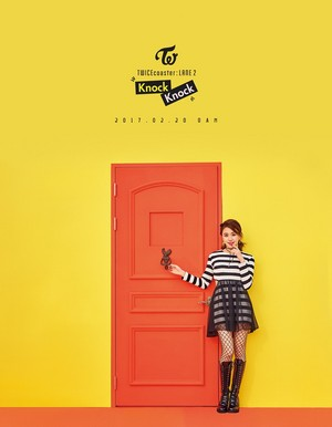 "Chaeyoung's Individual Teaser Image for ""Knock Knock''"