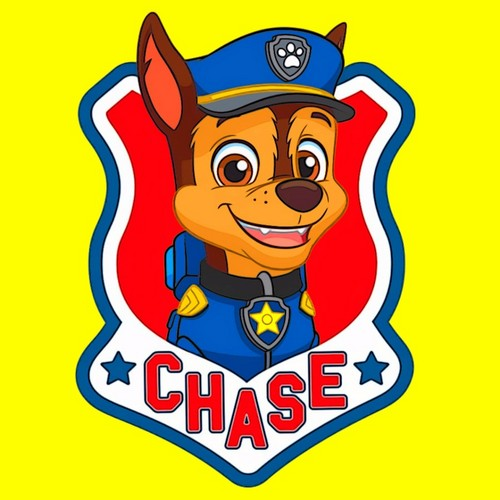 Chase PAW Patrol Wallpaper Titled