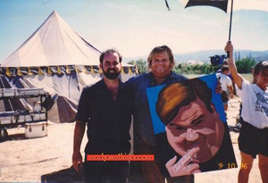 Chris Farley with portrait copy