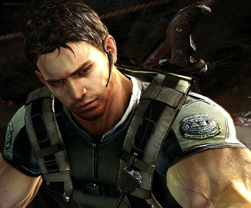 Video Games wallpaper entitled Chris Redfield