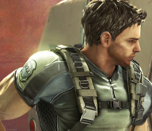 Video Games wallpaper called Chris Redfield