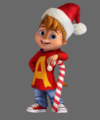 Christmas Alvin - alvin-and-the-chipmunks photo