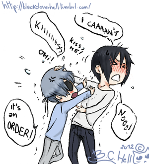 Ciel x Sebby ~ This is an order