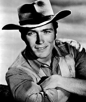 Clint as Rowdy Yates ~Rawhide 1961