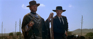 Clint in For a Few Dollars আরো (1965) w/ Lee অগ্রদূত Cleef