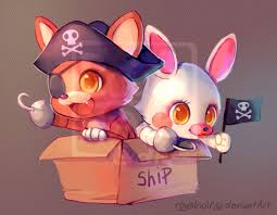 Cute Pirates five nights at freddys 40022643 255 198