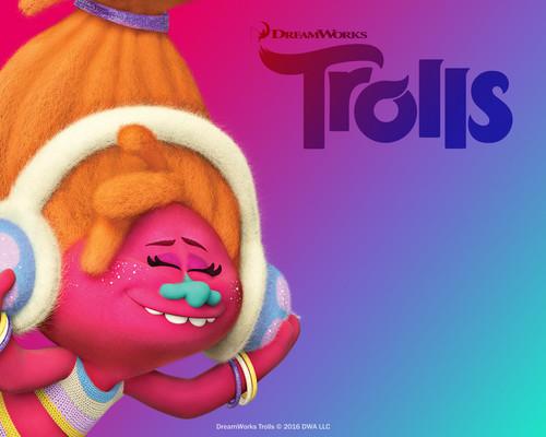 DreamWorks Trolls fondo de pantalla titled DJ