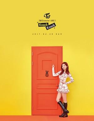 """Dahyun's Individual Teaser Image for """"Knock Knock''"""