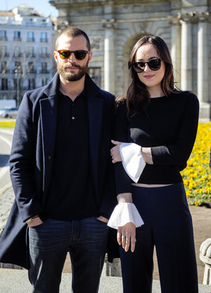 Dakota Johnson and Jamie Dornan in Spain