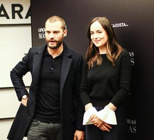 Dakota Johnson and Jamie Dornan in Spain