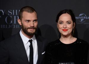 Dakota and Jamie at Fifty Shades Darker Germany premiere