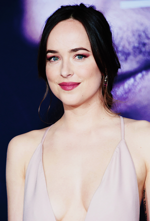 Dakota at the L.A. premiere of Fifty Shades Darker