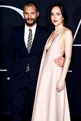 Damie At La Premiere Of Fifty Shades Darker 50 Shades Of