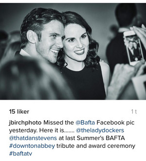 Dan Stevens & Michelle Dockery 2015 Reunion