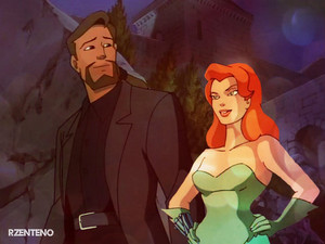David Xanattos And Poison Ivy