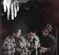 Dean, Sam and Castiel - supernatural fan art