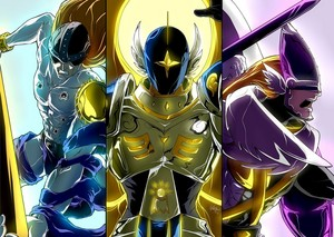 Digimon, Angemon,Magnaangemon,Seraphimon