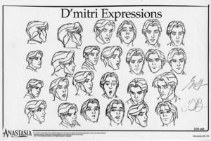 Dimitri Model Sheet