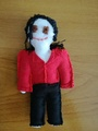Doll (made by me) - michael-jackson photo