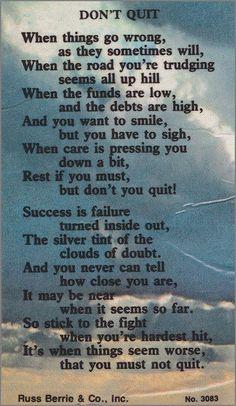 Don't Quit 💙