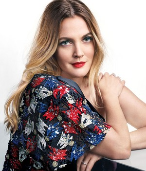 Drew Barrymore Photoshoot for Marie Claire Magazine 2016