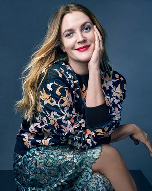 Drew Barrymore – Photoshoot for Marie Claire Magazine April 2016
