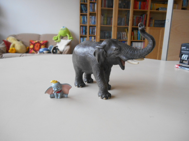Dumbo e l'elefante asiatico