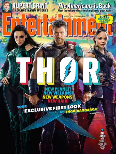 Thor: Ragnarok Обои called EW Magazine Cover
