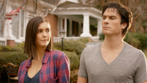 Elena and Damon 8X16 '' I Was Feeling Epic''