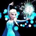 Elsa Firework - frozen photo
