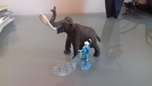 Elsa e il mammut lanoso