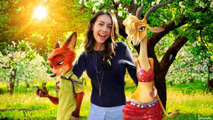 Emma Fuhrmann Blended ESPN Age Movie Zootopia ParisPic