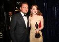 Emma Stone and Leonardo Dicaprio - leonardo-dicaprio photo