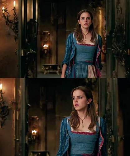 Beauty and the Beast (2017) वॉलपेपर called Emma Watson as Belle