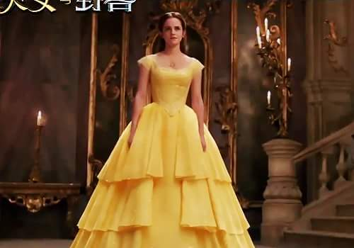 Beauty and the Beast (2017) Обои called Emma Watson as Belle