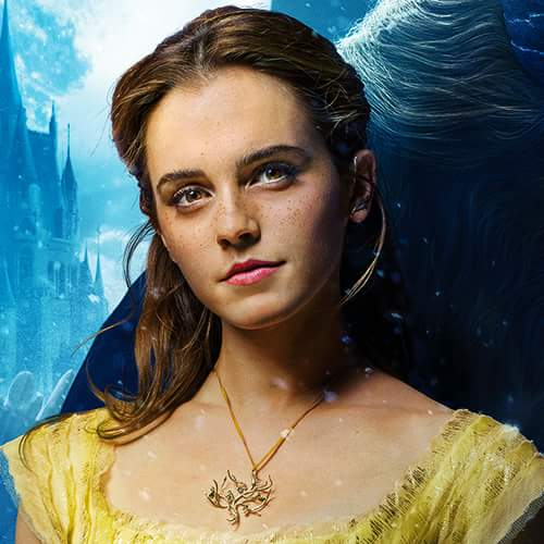 Beauty and the Beast (2017) kertas dinding titled Emma Watson as Belle