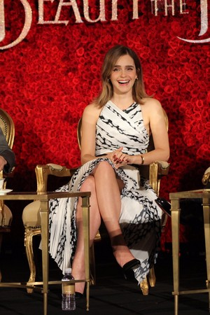 Emma Watson at 'Beauty and the Beast' LA press conference
