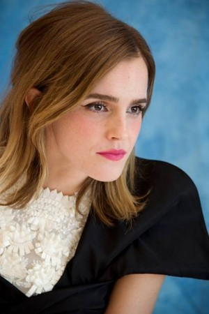 Emma Watson at solo 'Beauty and the Beast' LA press conference [March 05, 2017]