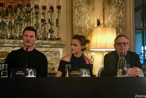 Emma Watson at the 'Beauty and the Beast' Paris press conference [February 20, 2017]
