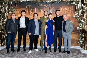 Emma Watson at the 'Beauty and the Beast' Paris press conference