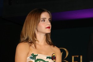 Emma Watson at the Paris Premiere of 'Beauty and the Beast' [February 19, 2017]
