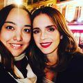 Emma Watson at the Paris Premiere of 'Beauty and the Beast'  - emma-watson photo