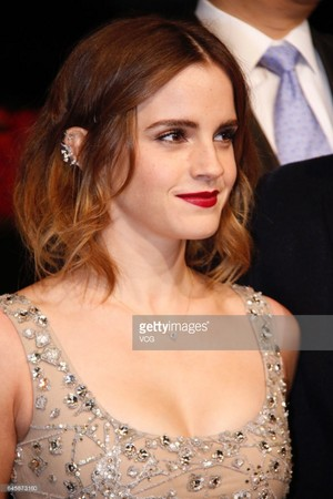 Emma Watson at the Shanghai 'Beauty and the Beast' premiere