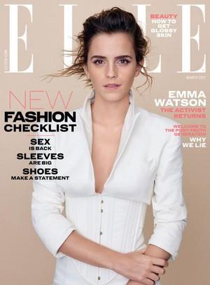 Emma Watson covers ELLE UK (March 2017)